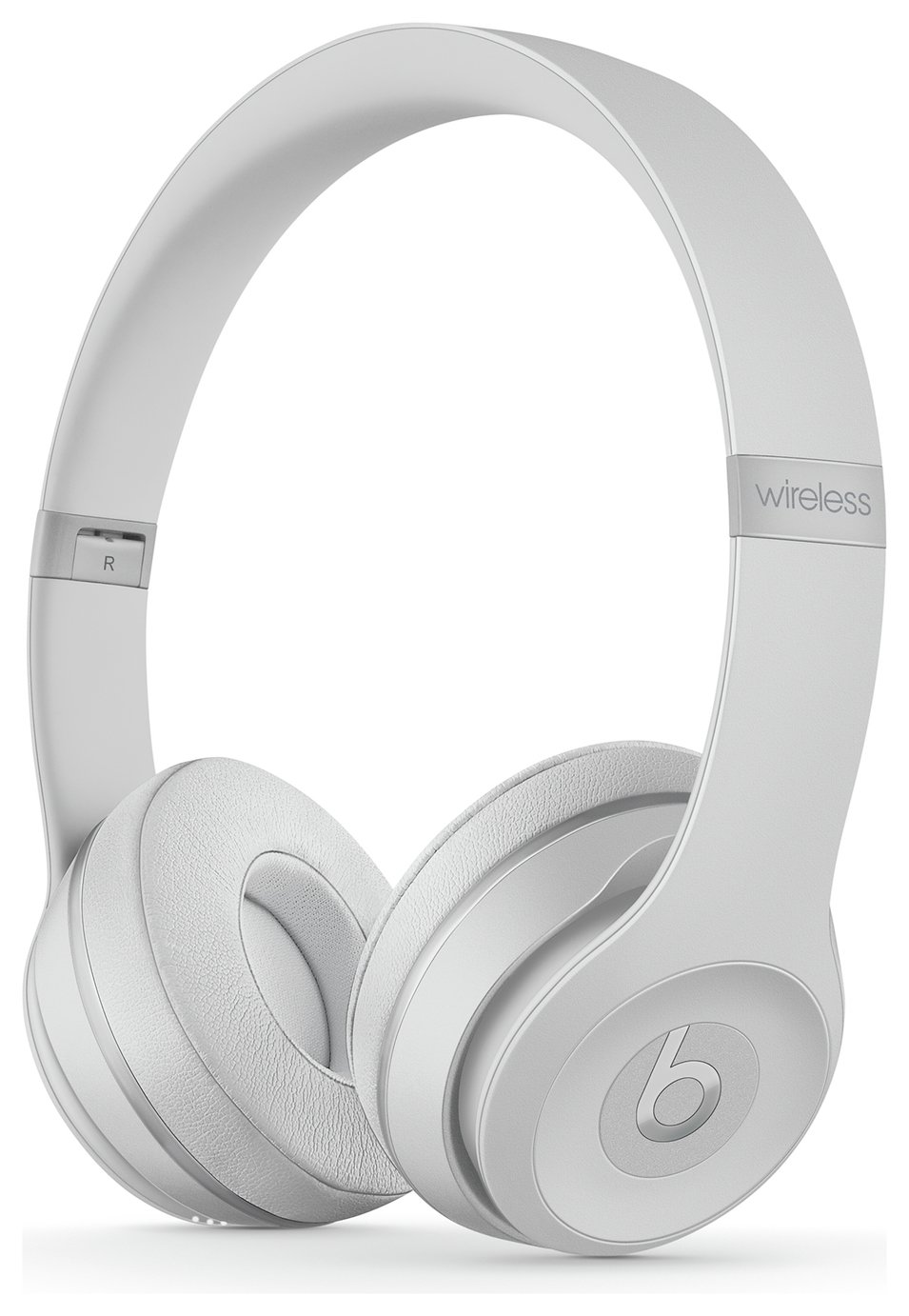 Beats by Dre Solo 3 On-Ear Wireless Headphones- Satin Silver