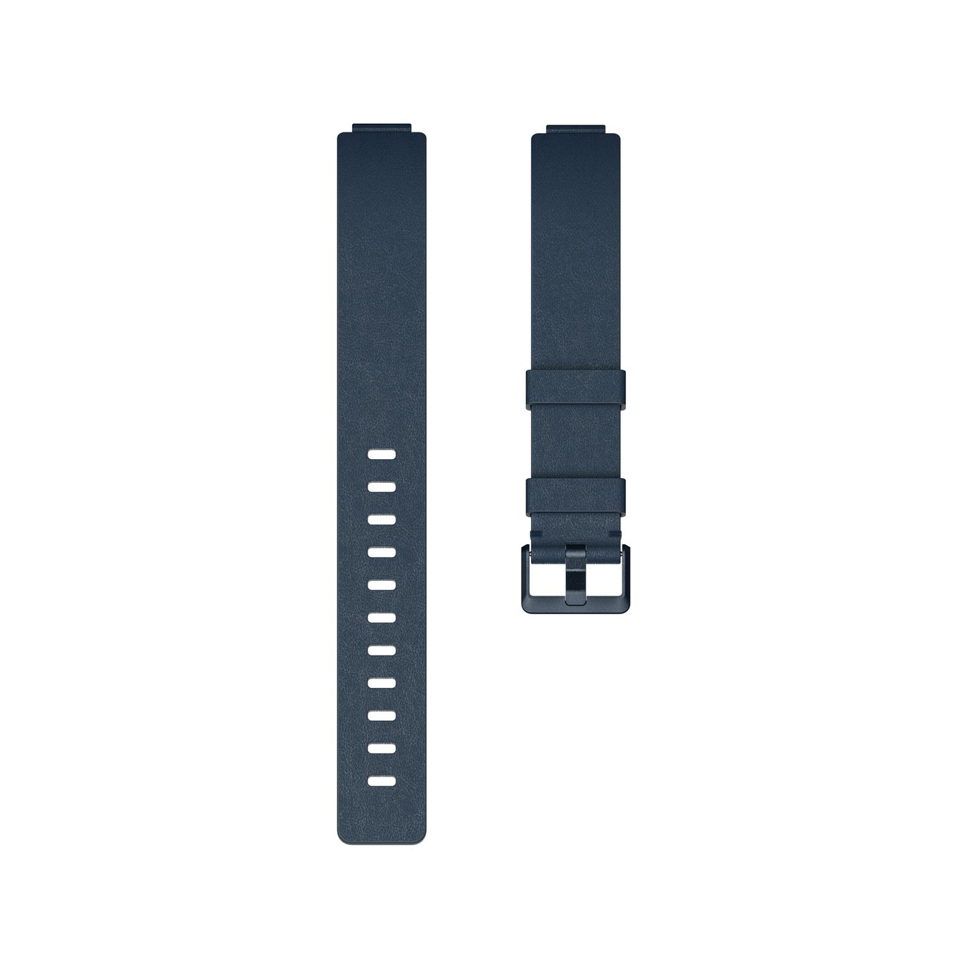 Fitbit Inspire Small / Medium Leather Accessory Band - Blue