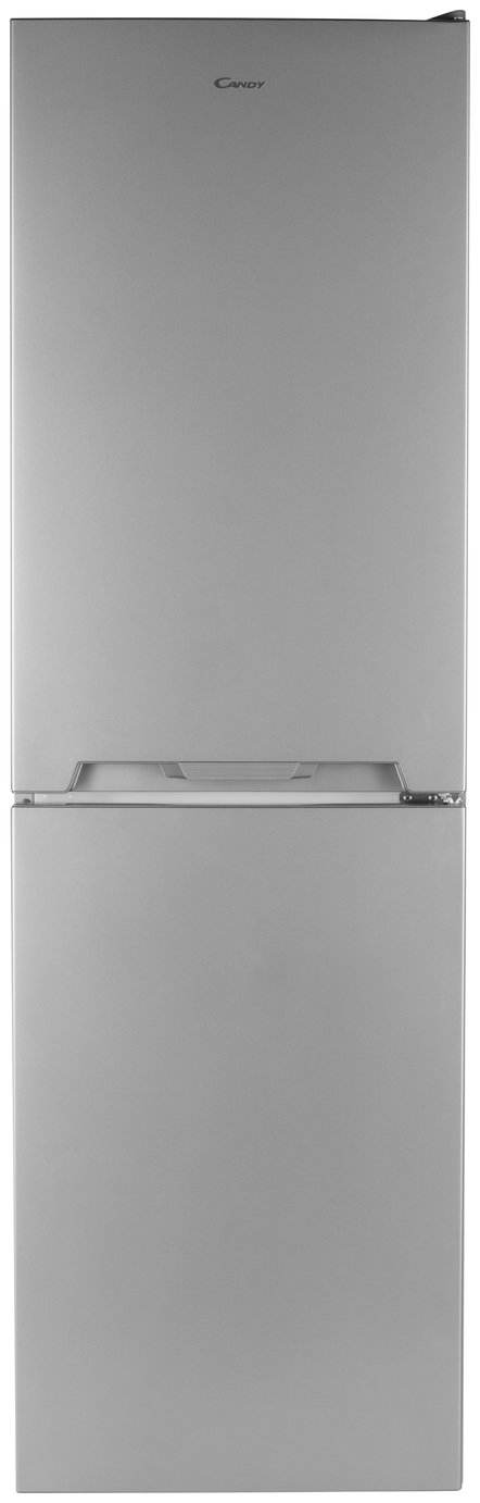 Candy CVS1745SK Fridge Freezer - Silver Best Price, Cheapest Prices