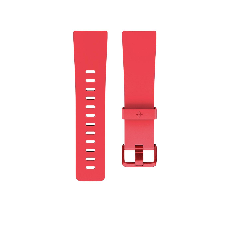 Fitbit Versa Classic Small/Medium Accessory Band - Scarlet