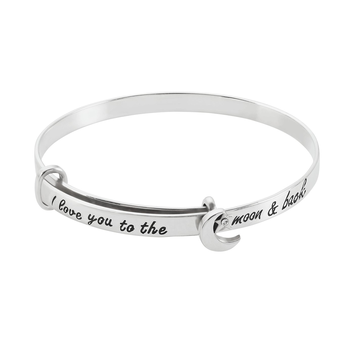 Love You to The Moon and Back Bangle Expander 0-18 months