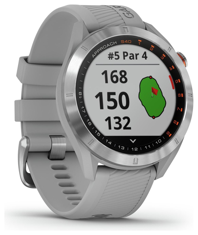 Garmin Approach S40 Approach Golf Smart Watch - Grey