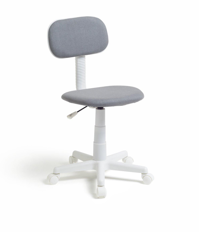Habitat Fabric Office Chair - Grey