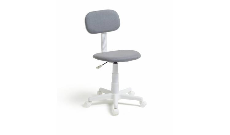 Buy Argos Home Fabric Office Chair Grey Office Chairs Argos