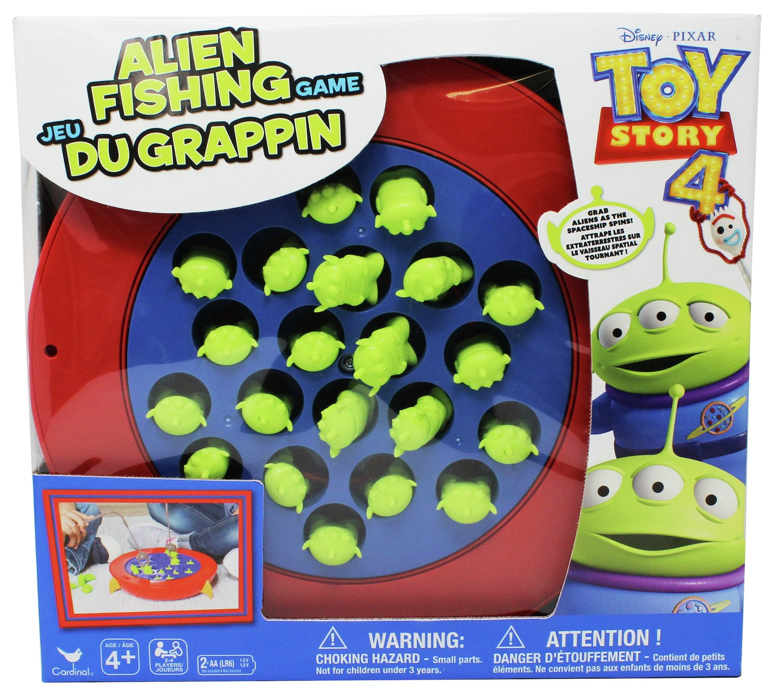 Disney Toy Story 4 Alien Fishing Game