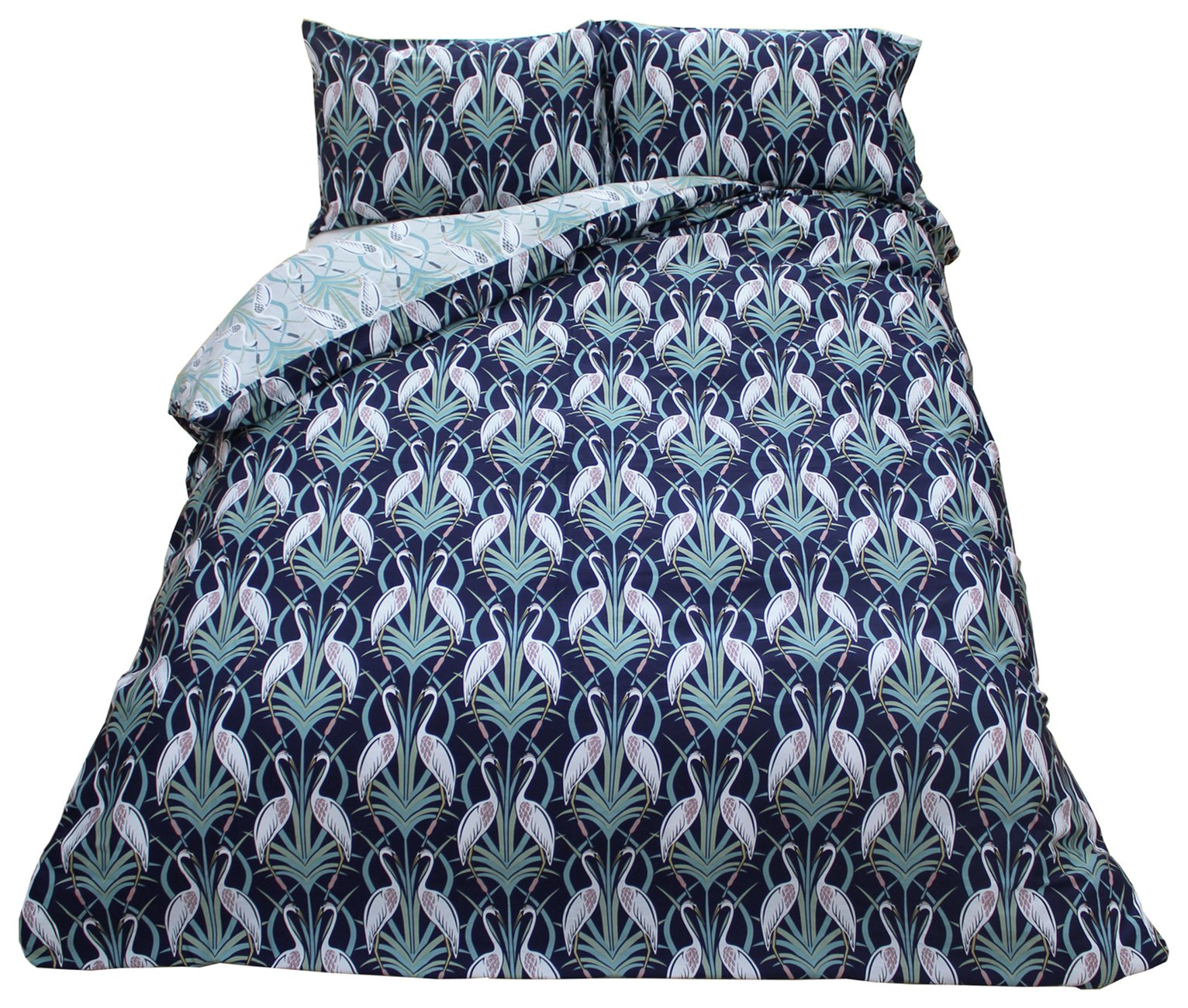 The Chateau by Angel Strawbridge Heron Bedding Set - Single