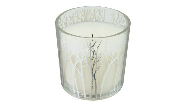 Argos Home Forest Dawn Large Tree Candle