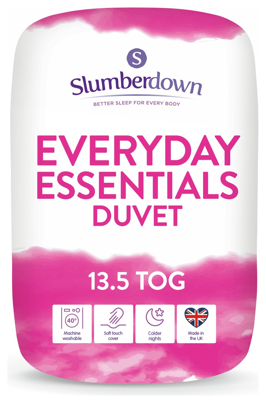 Slumberdown Everyday Essentials 13.5 Tog Duvet - Single