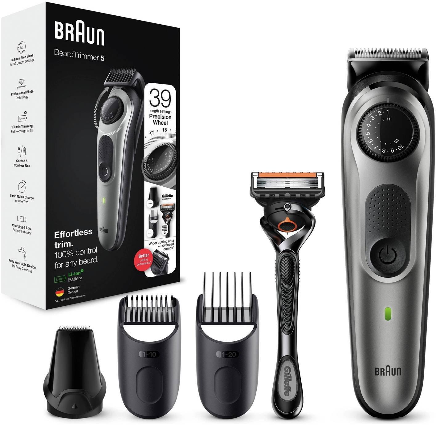 Braun Beard Trimmer and Hair Clipper BT5060