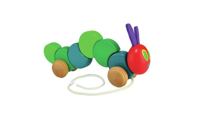 World of Eric Carle Wood Pull Along Very Hungry Caterpillar