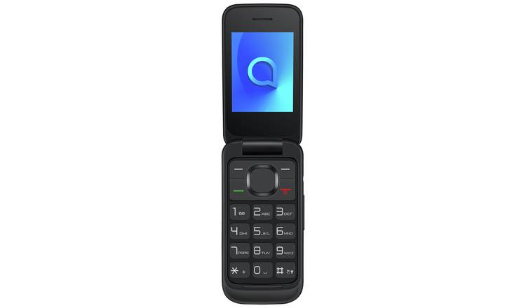 SIM Free Alcatel 20.53 Mobile Phone - Black