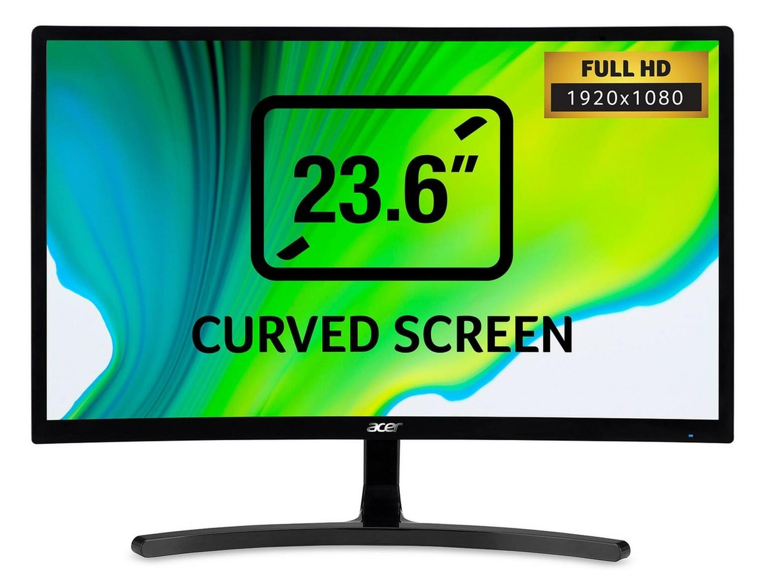 Acer ED242QRAbidpx 23.6 Inch FHD Curved Monitor, Black(VA Panel, FreeSync, 144 Hz, 4 ms, DP, HDMI, DVI) Best Price and Cheapest