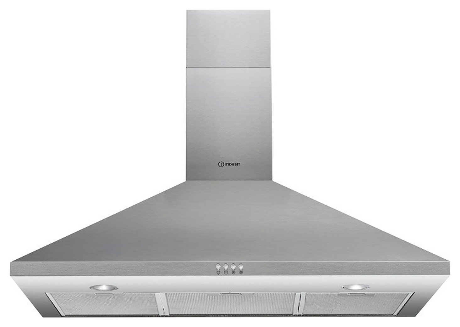 Indesit IHPC 9.4LMX 90cm Cooker Hood - Stainless Steel