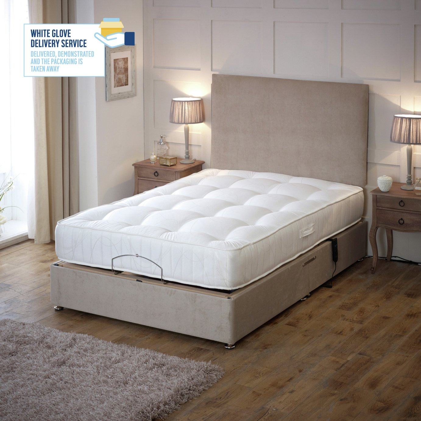 Drive Devilbiss 4ft6 Royal Adjustable Bed Divan