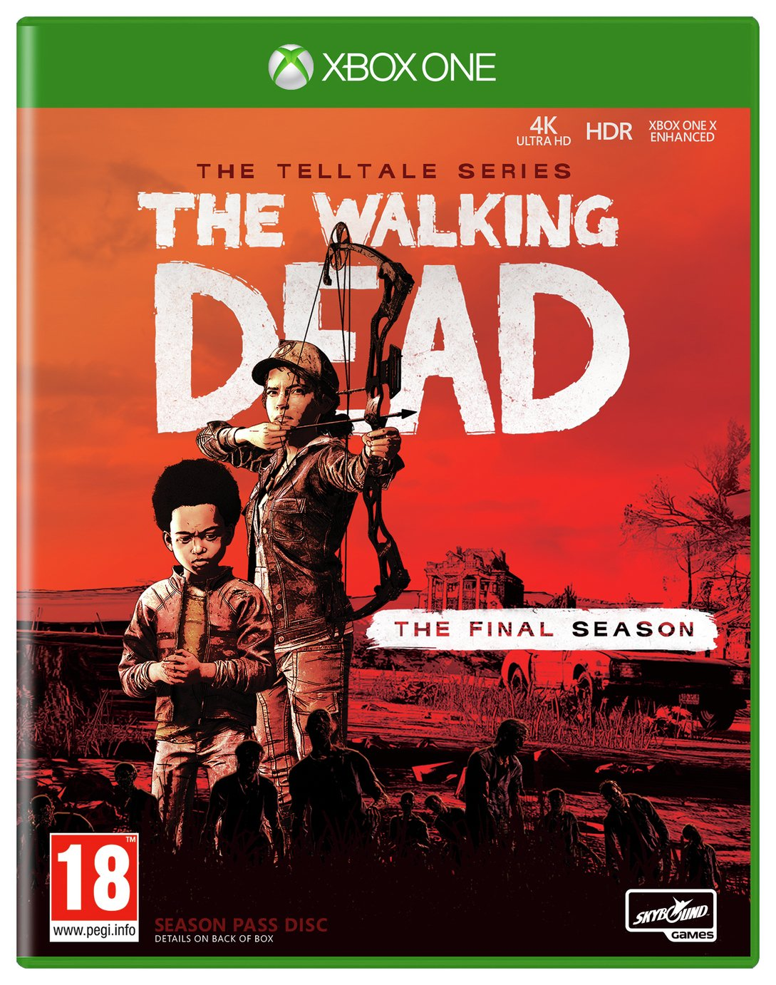The Walking Dead Season 4 Xbox One Game