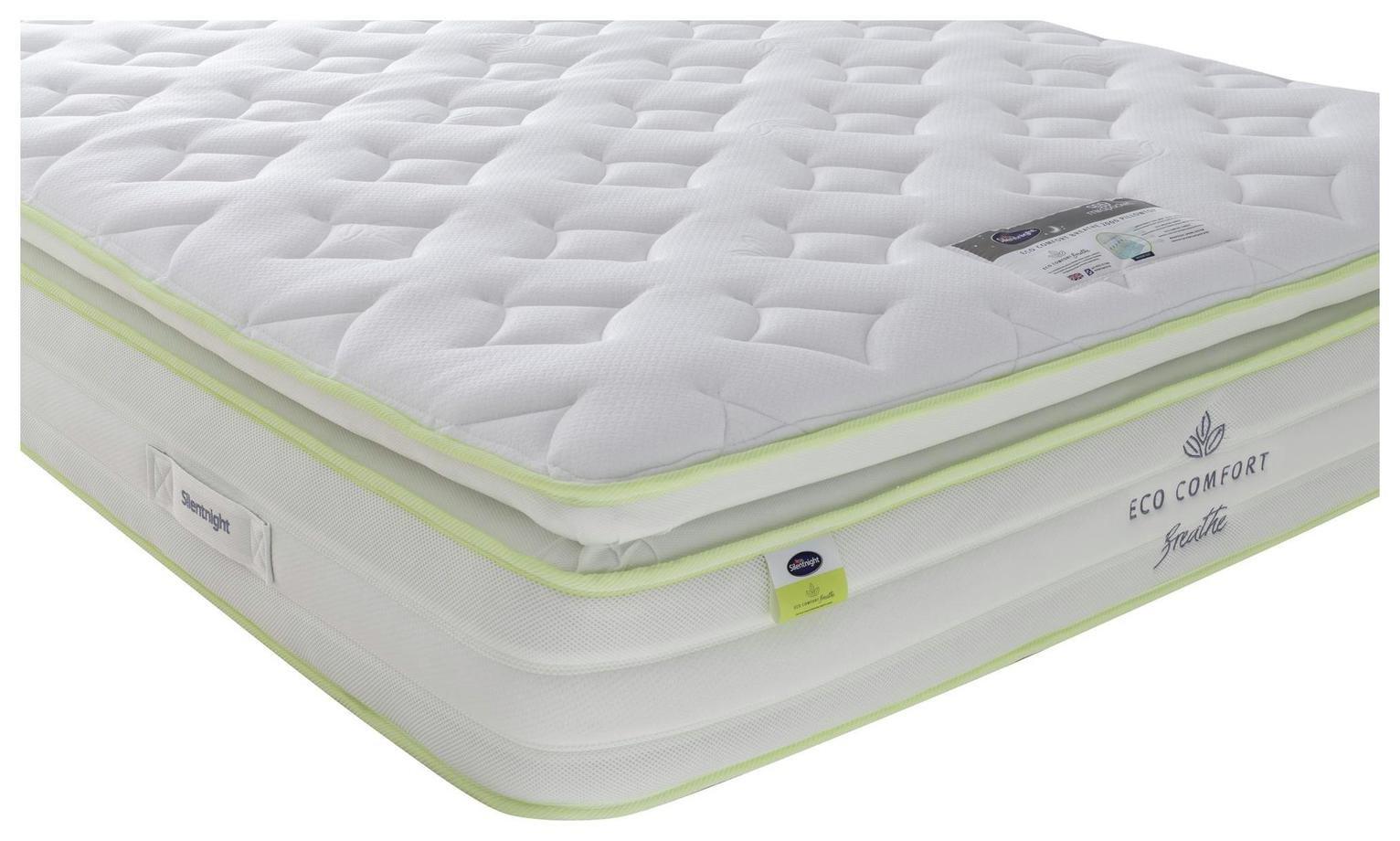 Silentnight EcoComfort Breathe 2000 Pillowtp Double Mattress
