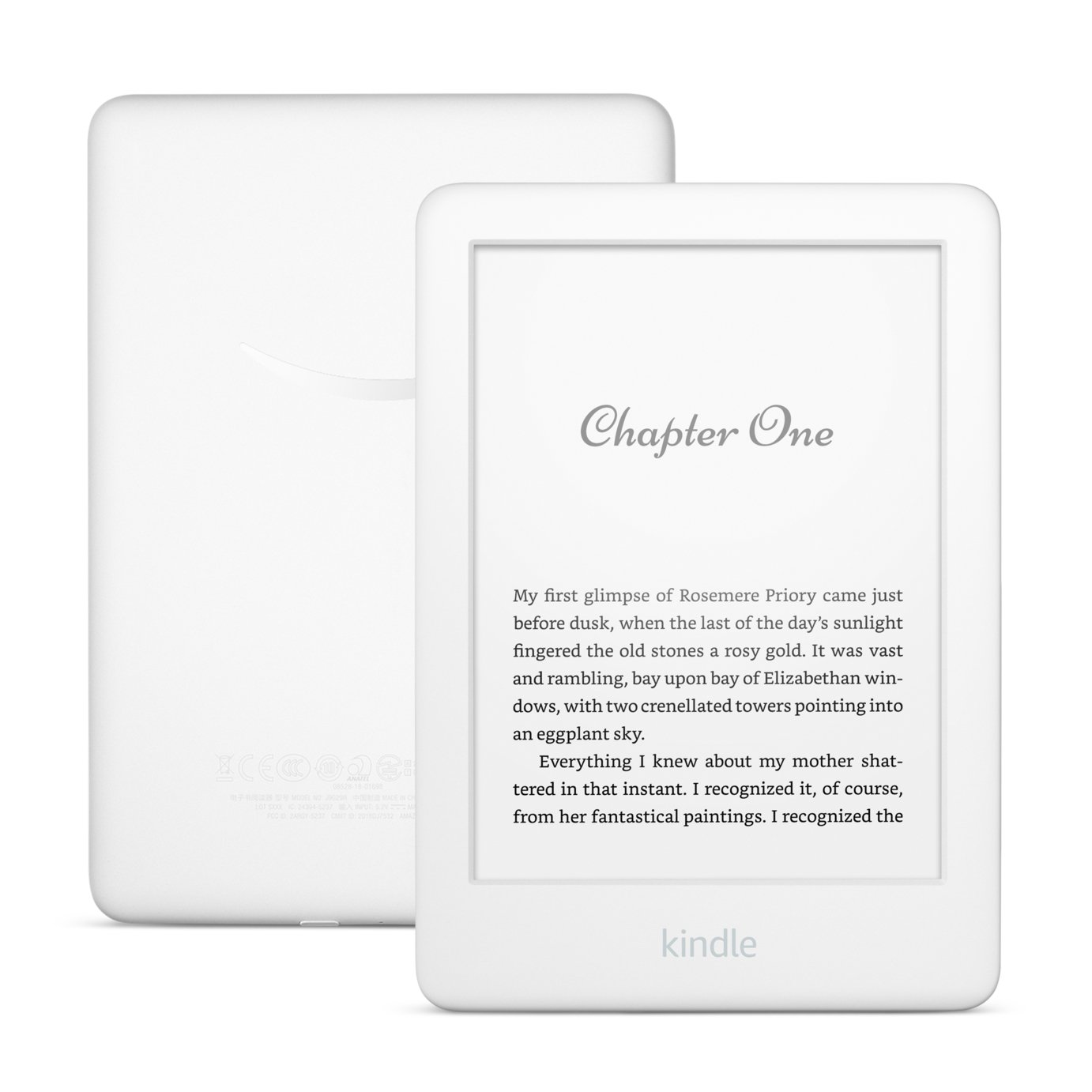 Kindle Touch 2019 4GB E-Reader - White