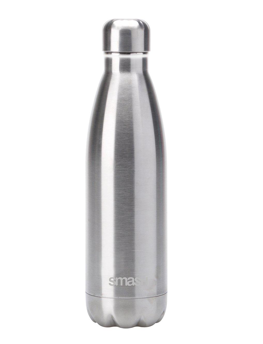 Smash Stainless Steel Silver Bottle - 500ml