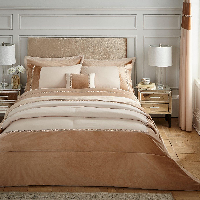 Catherine Lansfield Velvet Glamour Bedding Set - Kingsize