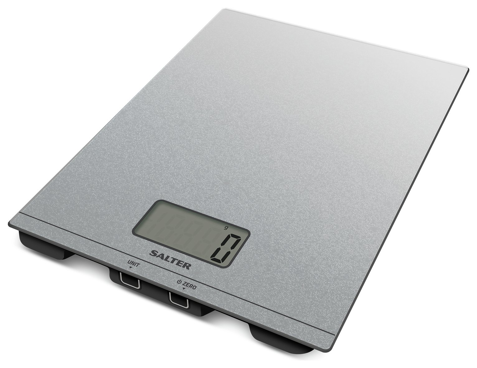 Salter Glitter Digital Kitchen Scale - Silver