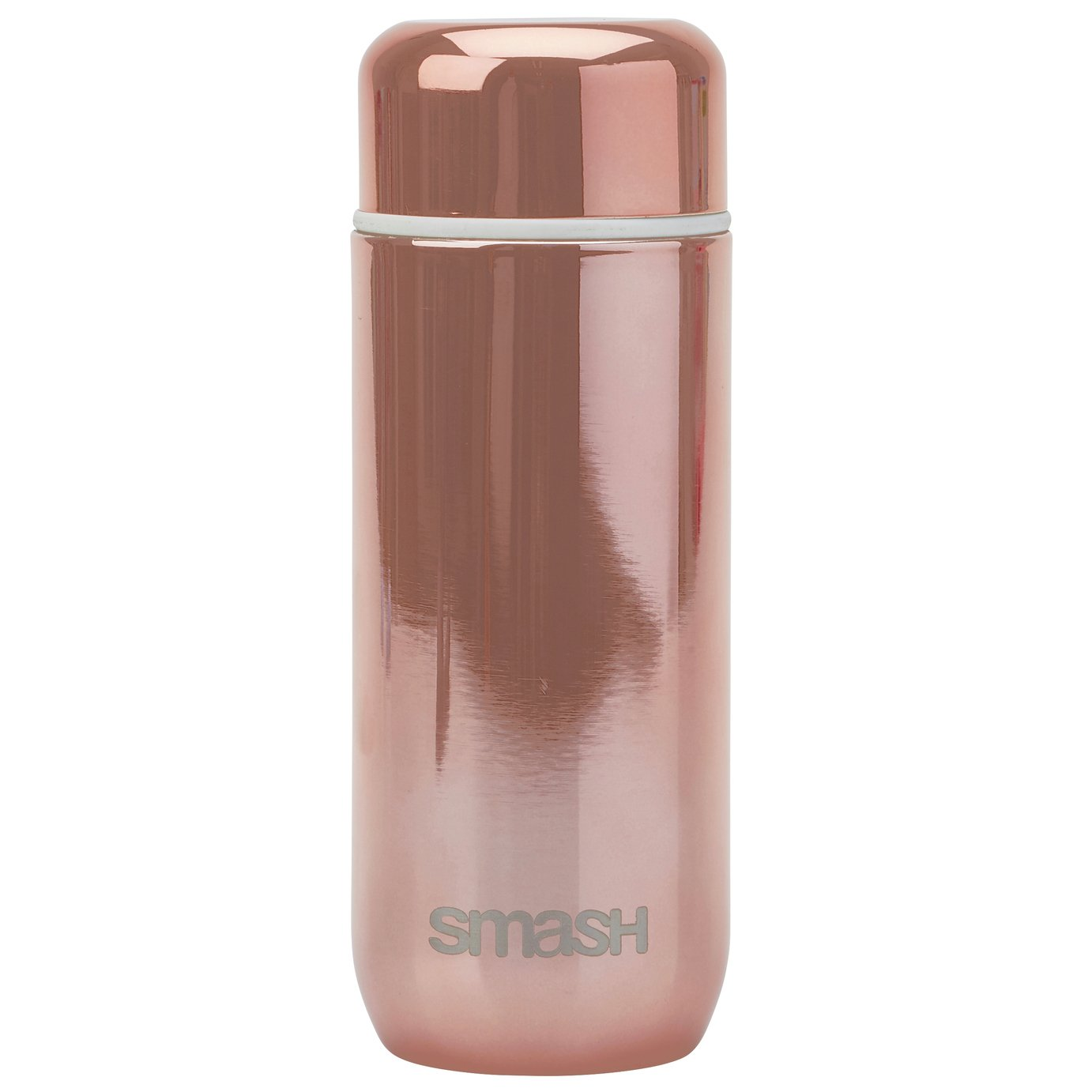 Rose Gold Stainless Steel Coffee Flask - 200ml