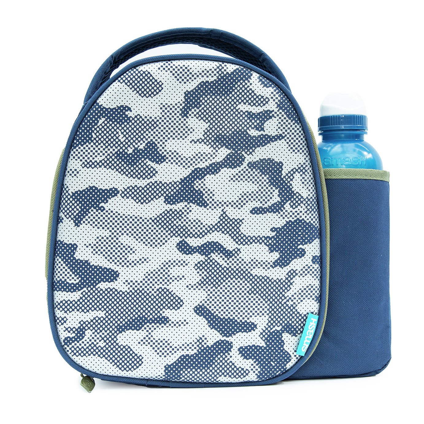 Smash Camo Lunch Bag and Bottle