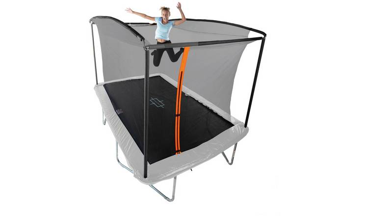 Sportspower 8ft x 12ft Outdoor Kids Trampoline and Enclosure