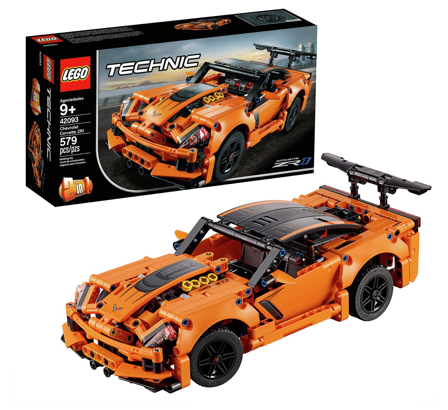 LEGO Technic Chevrolet Corvette ZR1 Car Replica - 42093