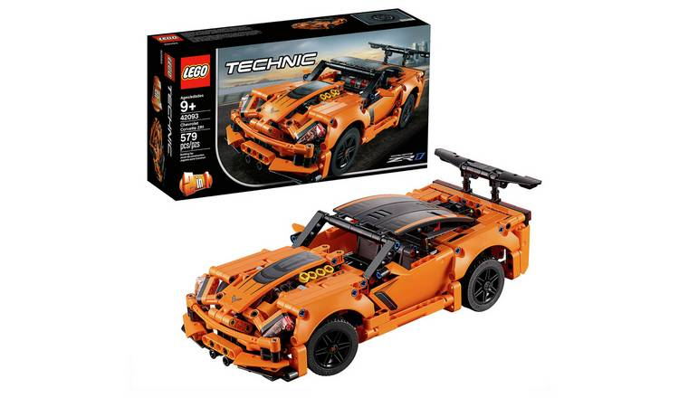 Buy Lego Technic Chevrolet Corvette Zr1 Rally Car Set 42093 Toy Cars Vehicles And Sets Argos