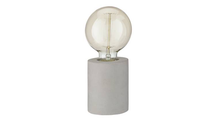Argos Home Concrete Table Lamp - Grey
