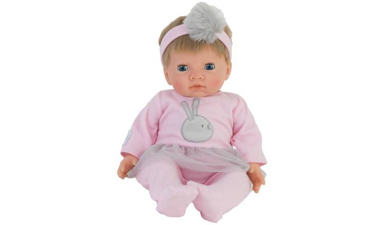 Buy Chad Valley Tiny Treasures Doll with Pink Outfit   Dolls   Argos