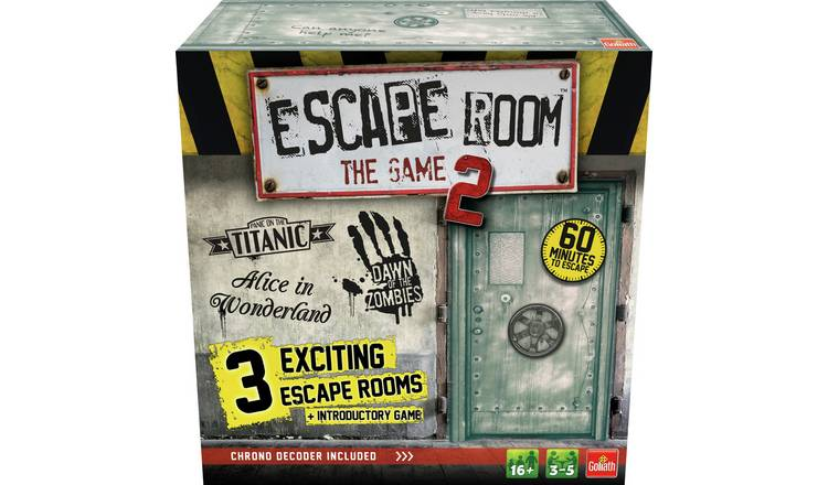 Goliath Games Escape Room The Game