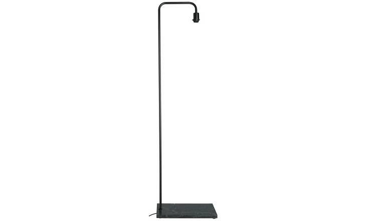 Habitat Marbelle Floor Lamp with Black Base