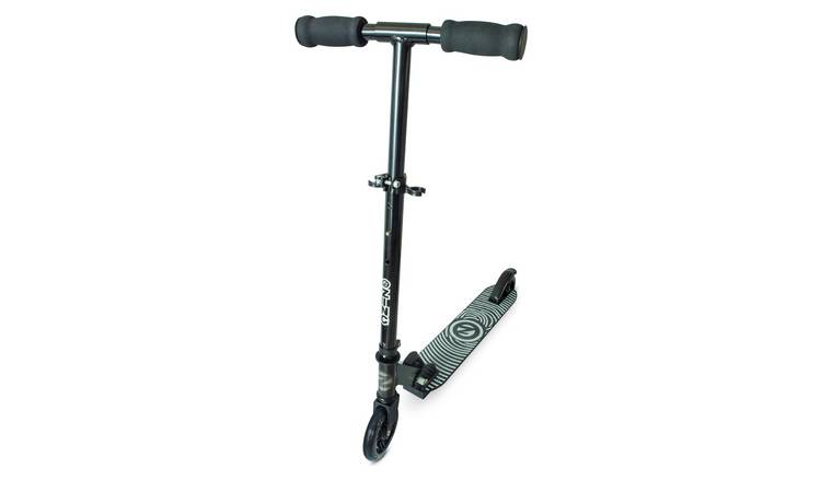 Zinc Aluminium Identity Folding Scooter - Black