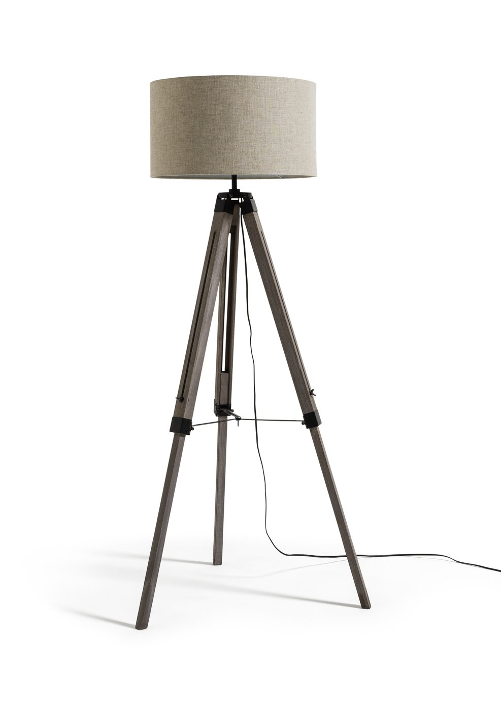 Argos Home Highland Lodge Colonial Tripod Floor Lamp