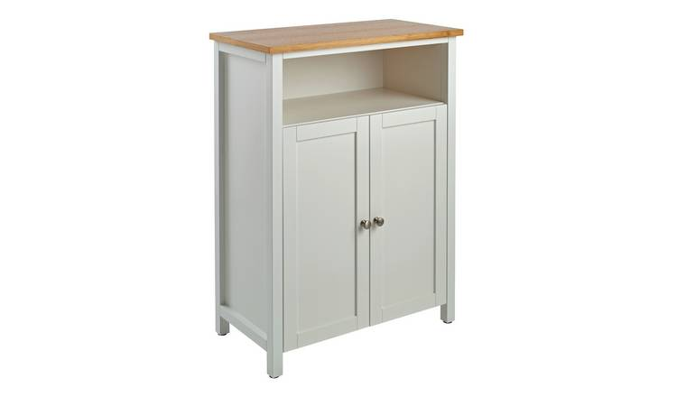 Astounding Buy Argos Home Livingston 2 Door Floor Cabinet White Bathroom Shelves And Storage Units Argos Interior Design Ideas Clesiryabchikinfo