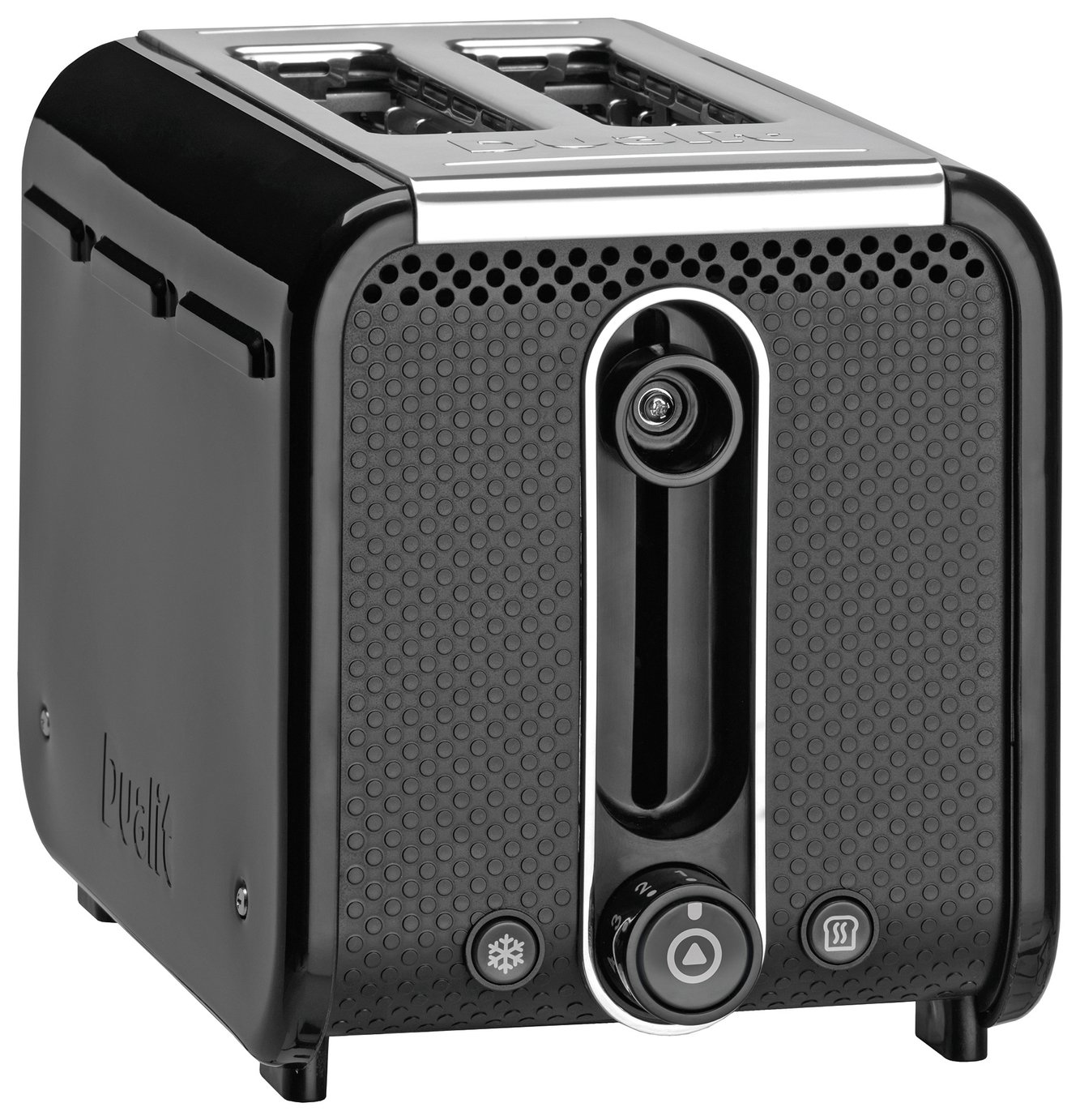 Dualit Studio S 2 Slice Toaster - Black