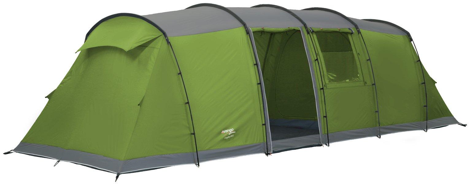 Vango Longleat 800XL 8 Man 2 Room Dome Camping Tent
