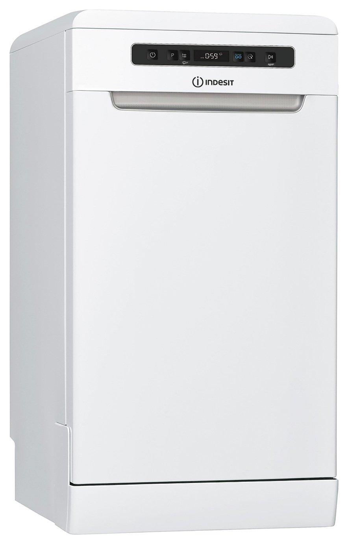 Indesit DSFO3T224ZUK Slimline Dishwasher - White