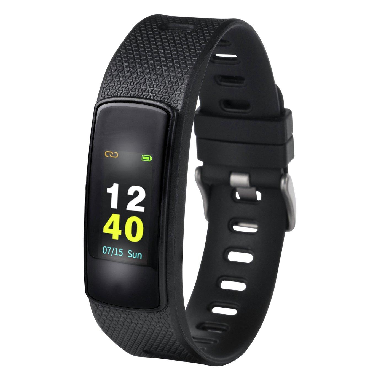Nuband Flash HR 2 Activity/ Sleep Tracker - Black