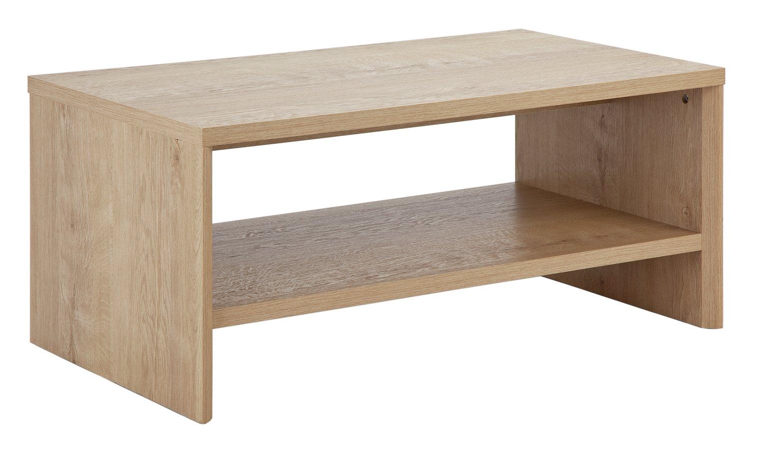 Argos Home Dalen Coffee Table - Oak Effect