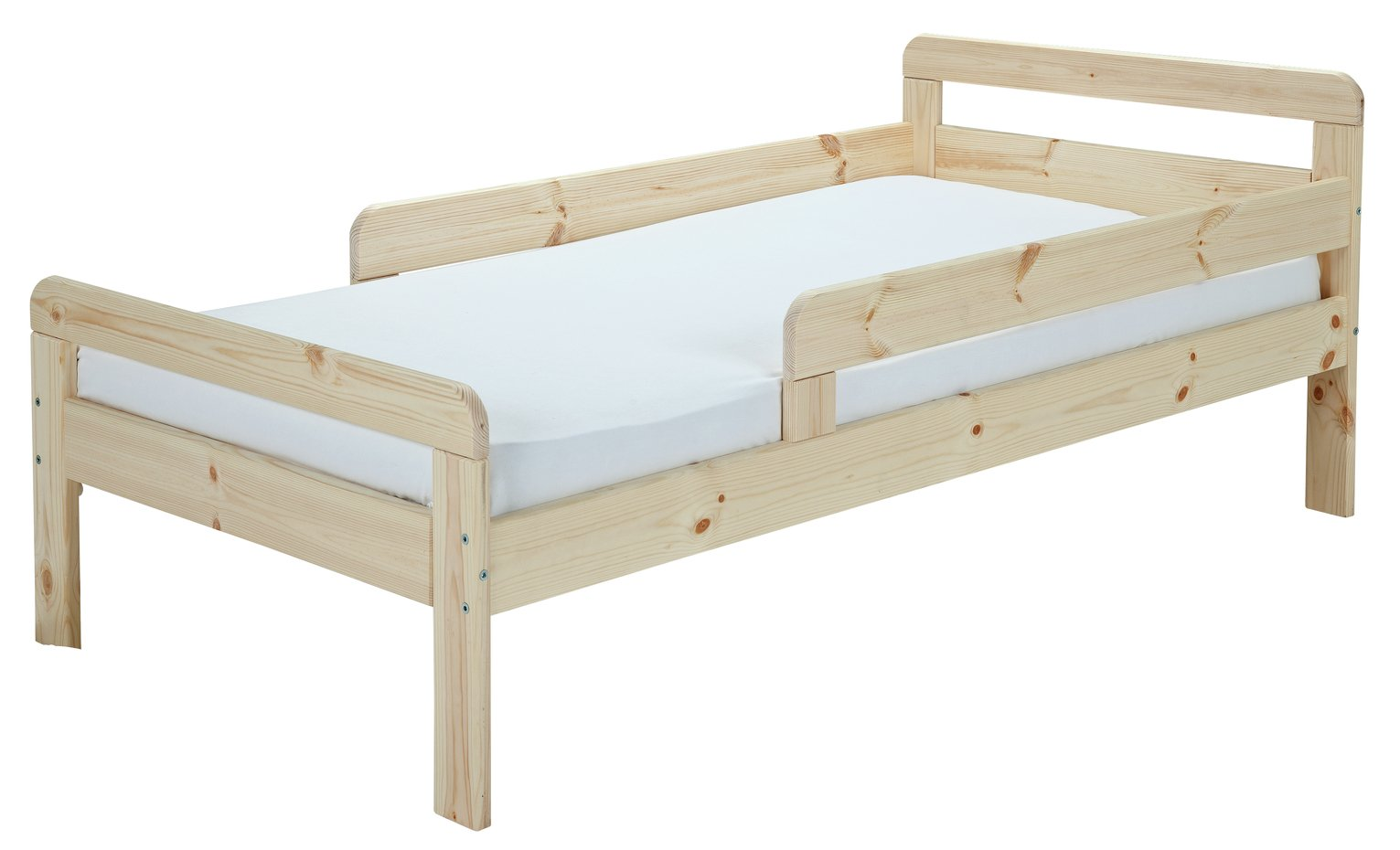 Argos Home Ellis Pine Toddler Bed & Kids Mattress