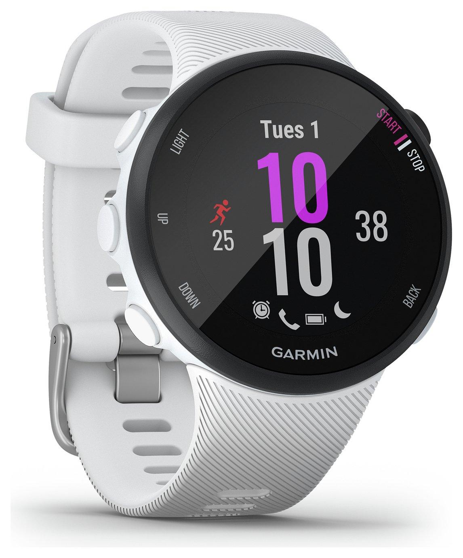Garmin Forerunner 45S Running Watch - White