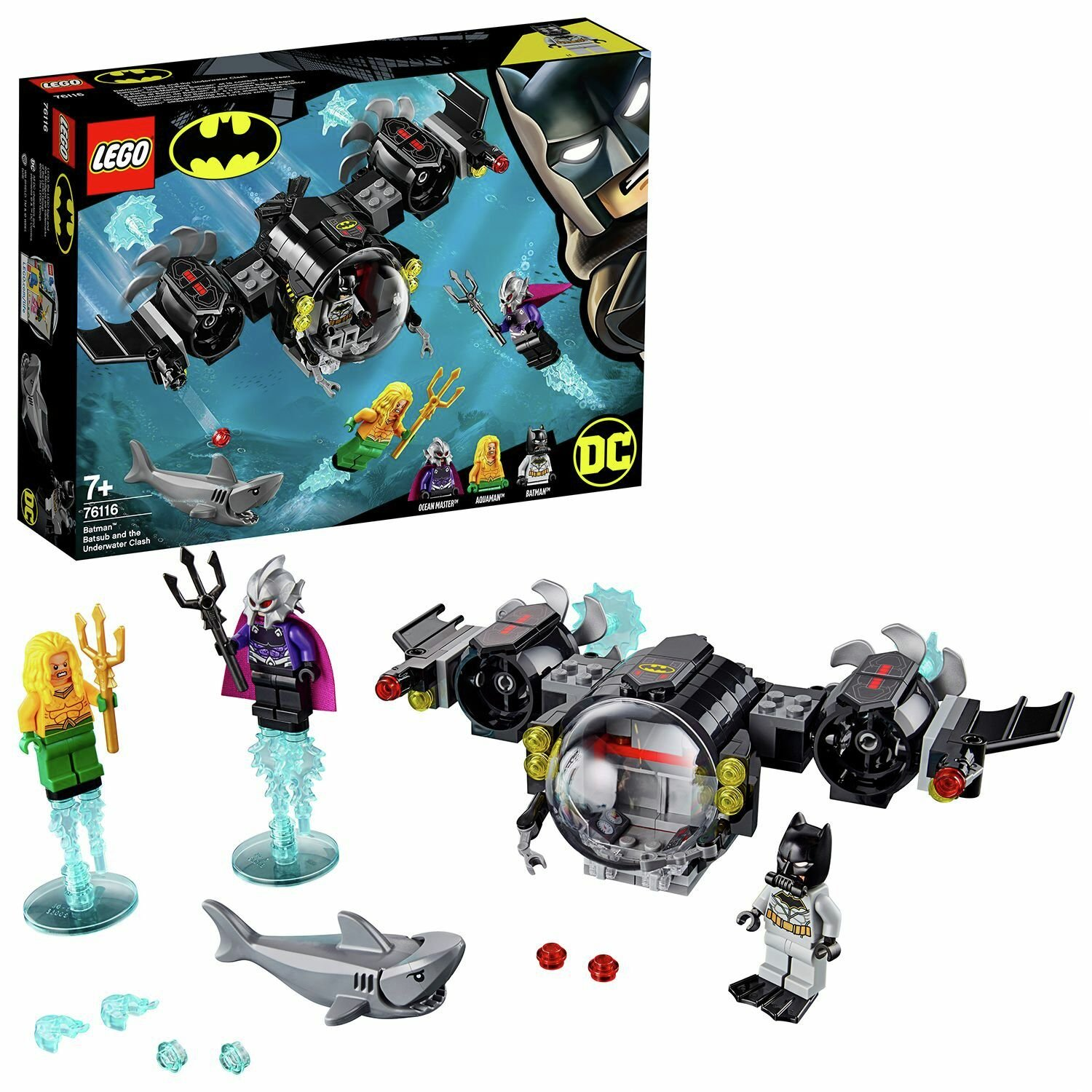 LEGO Super Heroes Batman Water Vehicle - 76116