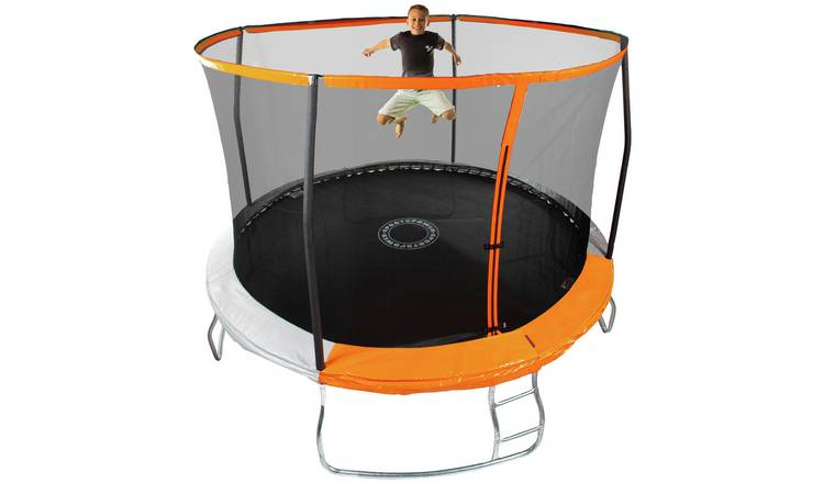 Sportspower 12ft Outdoor Kids Trampoline with Enclosure