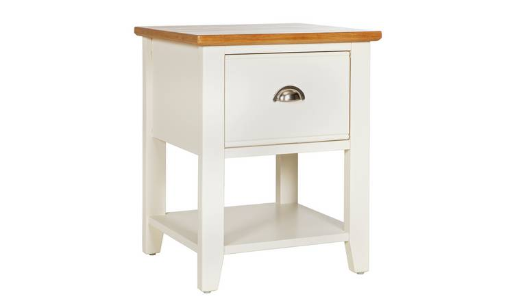 Argos Home Highbury Lamp Table - Two Tone