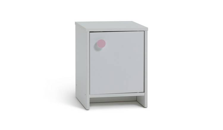 Argos Home Juno Bedside Table -  White