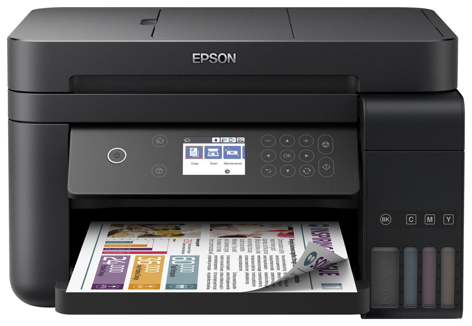 Epson EcoTank ET-3750 Wireless Ink Tank Printer