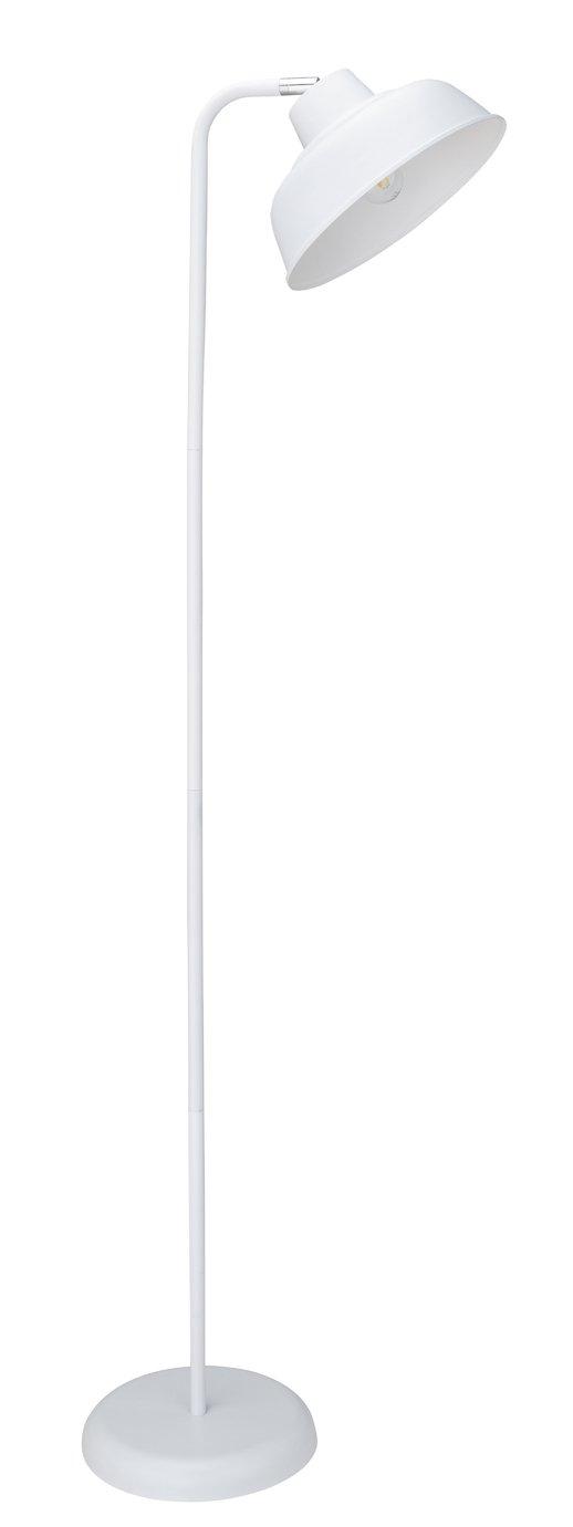 Argos Home Benson Floor Lamp - White