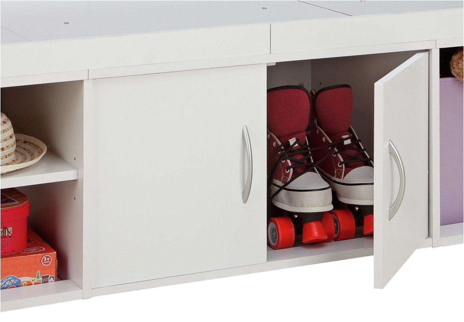 Argos Home Freddie White Cabin Bed & Kids Mattress Reviews